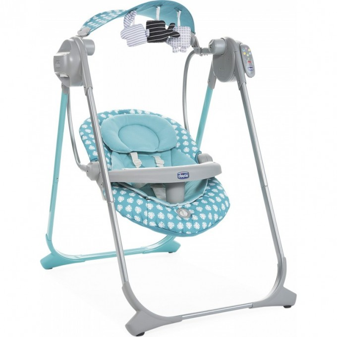 Качели CHICCO POLLY SWING UP, Turquoise 04079110410000