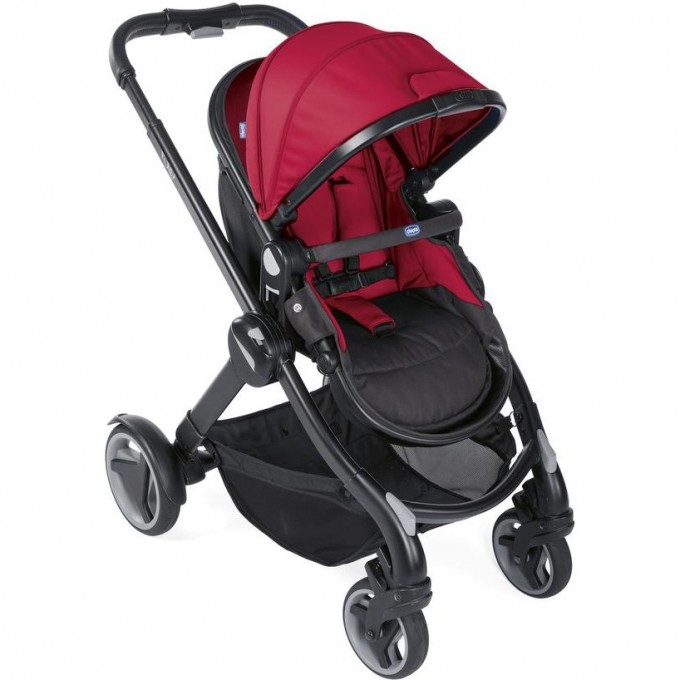 Коляска CHICCO FULLY RED PASSION, Red Passion 07079002640000