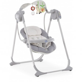 Качели CHICCO POLLY SWING UP, Silver